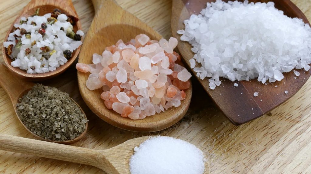 What is table salt?