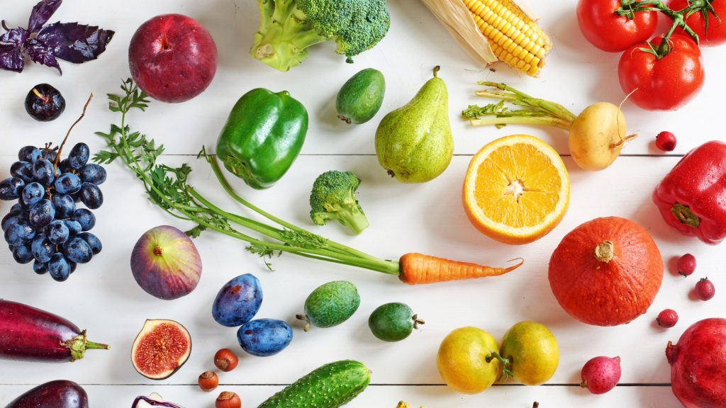 Quality of fruits and vegetables